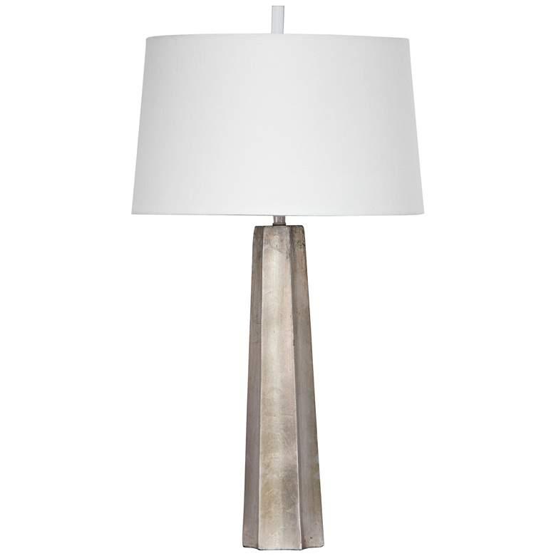 Regina Andrew Celine Ambered Silver Leaf Table Lamp