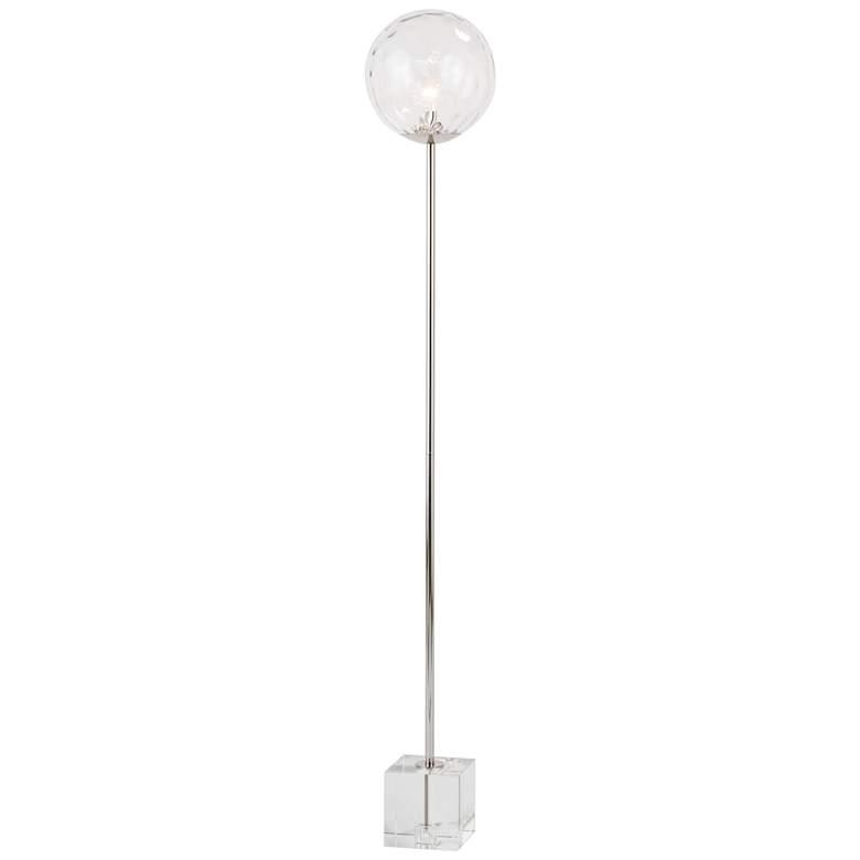 Regina Andrew Rio Polished Nickel Floor Lamp