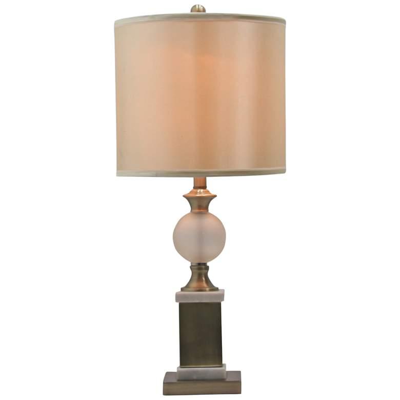 Belville Antique Walnut Urn Table Lamp 5g102 Lamps Plus