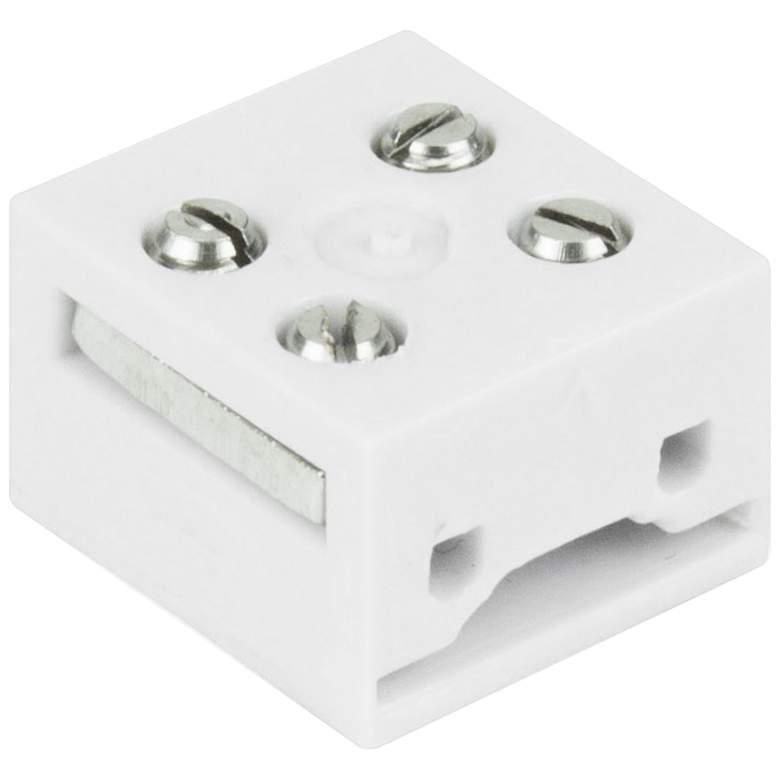 "Trulux IP54/65 0.47"" Wide White Multipurpose Block Connector"