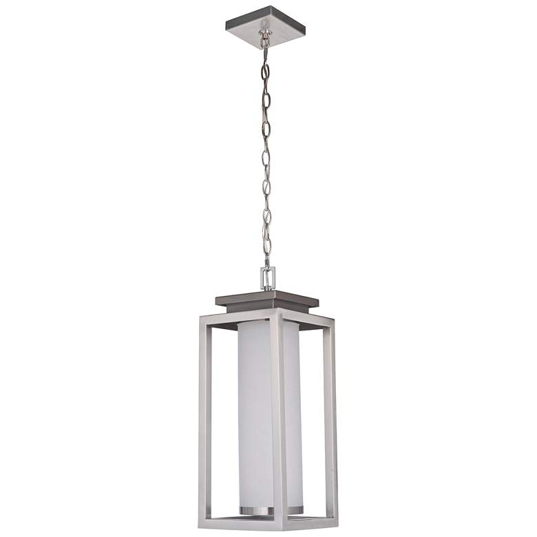 "Vailridge 21 1/2""H Stainless Steel LED Outdoor Hanging Light"