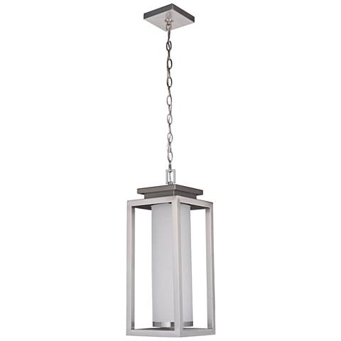"Vailridge 21 1/2""H Stainless Steel LED Outdoor Hanging Light"