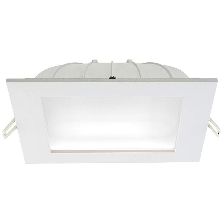"Eurofase 6"" White LED Square Dome Recessed Downlight"
