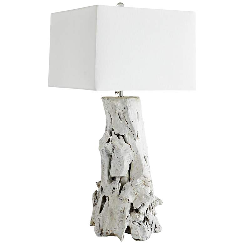 Arteriors Home Bodega White Washed Driftwood Table Lamp