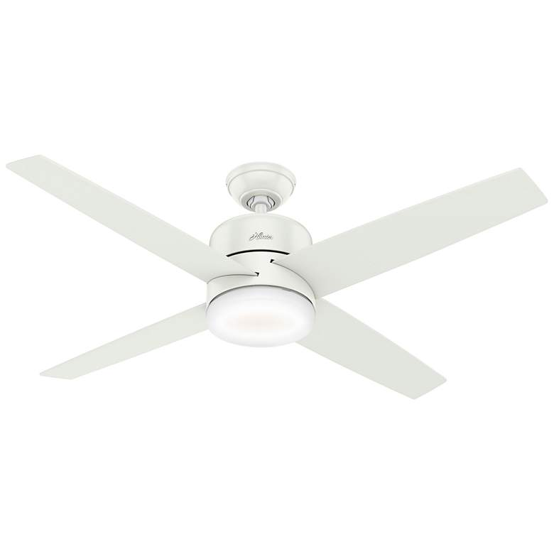 """54"""" Hunter Advocate Fresh White LED Ceiling Fan"""