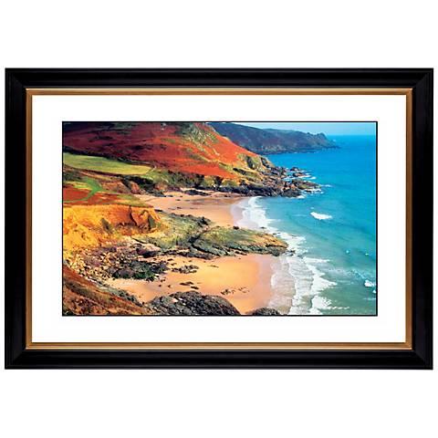 "Beach Hideaway Giclee 41 3/8"" Wide Wall Art"