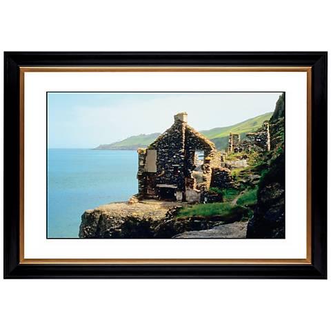 "Abandoned Seaside Cottage Giclee 41 3/8"" Wide Wall Art"