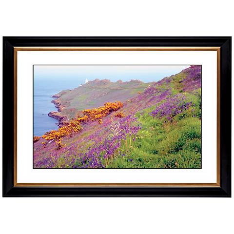 "Cliff Flowers Giclee 41 3/8"" Wide Wall Art"