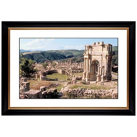 "Stonework Abbey Giclee 41 3/8"" Wide Wall Art"