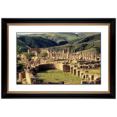 "Abbey Ruins Giclee 41 3/8"" Wide Wall Art"