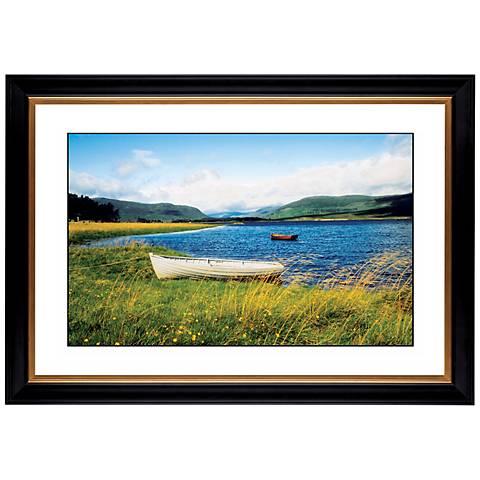 """Windswept Lake Giclee 41 3/8"""" Wide Wall Art"""
