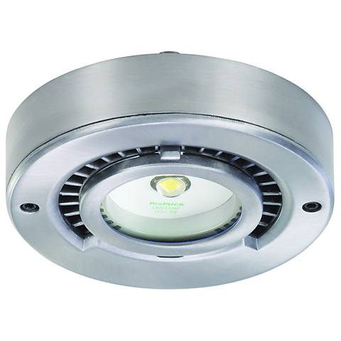 "ProPuck Satin Aluminum 4"" Wide LED Undercabinet Light"