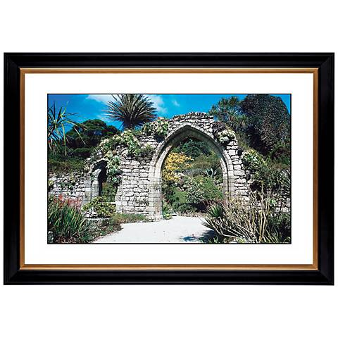 """Gothic Arch Ruins Giclee 41 3/8"""" Wide Wall Art"""