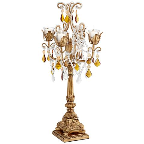 "French Taper 29""H Droplets Taper Candelabra Candle Holder"