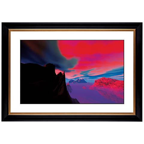 "Magic Sunset Giclee 41 3/8"" Wide Wall Art"