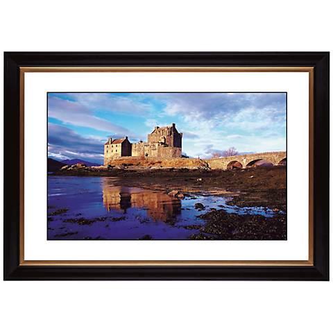 """Seaside Castle Giclee 41 3/8"""" Wide Wall Art"""