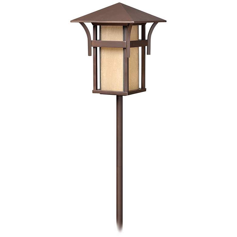 Hinkley Harbor Collection Bronze Low Voltage Path Light