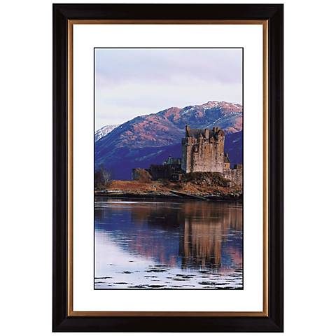 "Castle Reflections Giclee 41 3/8"" High Wall Art"
