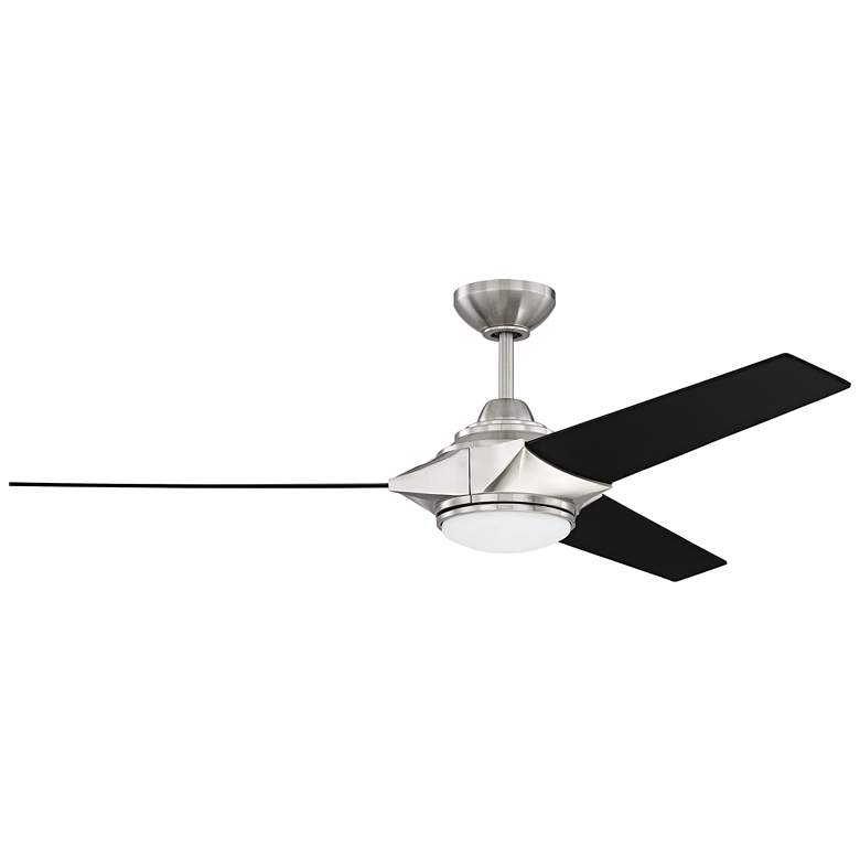 "54"" Craftmade Echelon Brushed Nickel LED Ceiling Fan"