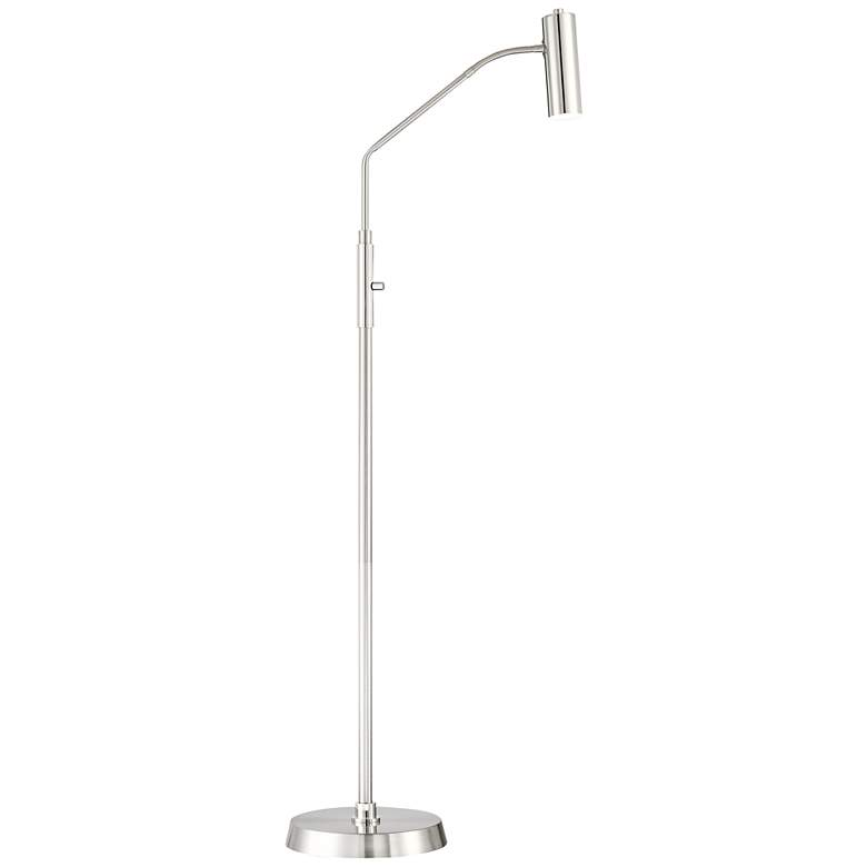 Soprano LED Task Floor Lamp with Gooseneck