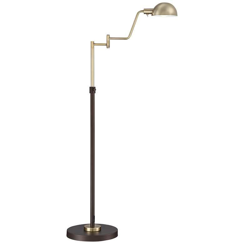 Webster LED Adjustable Pharmacy Floor Lamp