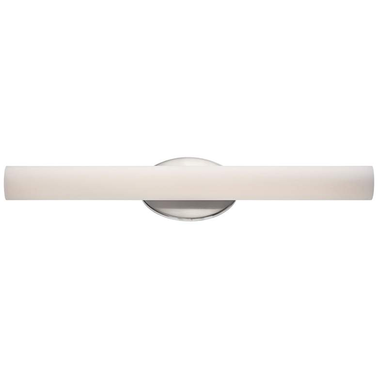"Modern Forms Loft 24"" Wide Brushed Nickel LED Bath Light"