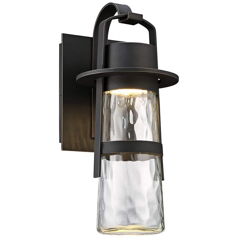 "Modern Forms Balthus 16"" High Bronze LED Outdoor Wall Light"