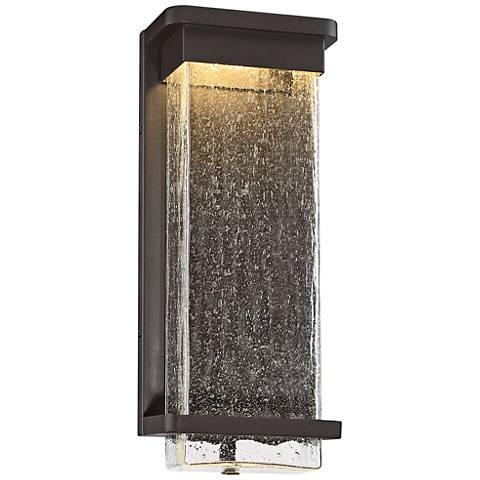 "Modern Forms Vitrine 16"" High Bronze LED Outdoor Wall Light"