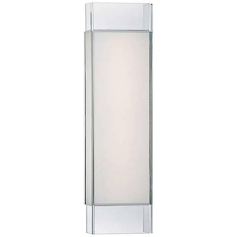 "Modern Forms Cloud 18"" Wide Chrome LED Bath Light"