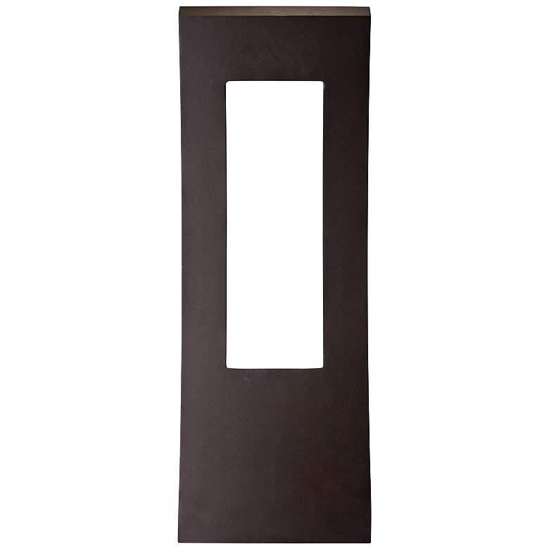 """Modern Forms Dawn 23"""" High Bronze LED Outdoor Wall Light"""