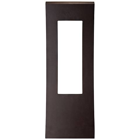 "Modern Forms Dawn 23"" High Bronze LED Outdoor Wall Light"