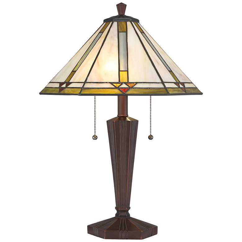 Landford Arts-Crafts Accent Table Lamp