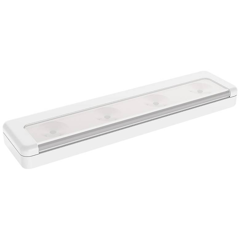 """Brilliant Evolution 8.5"""" W White LED Under Cabinet Light Bar"""