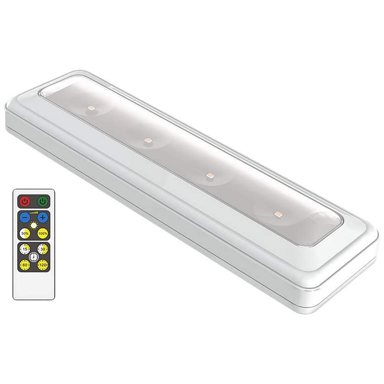 "Brilliant Evolution 9 3/4""W White LED Under Cabinet"