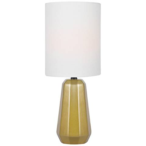 "Lite Source Charna 17 1/2""H Gold Ceramic Accent Table Lamp"