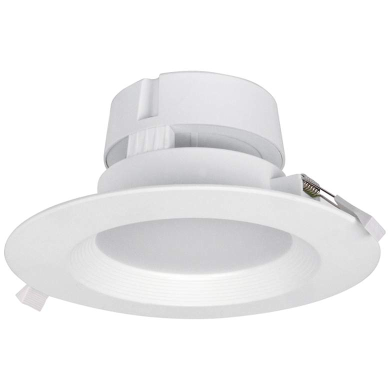 "Can and Housing Free 6"" White LED Snap Trim Downlight"