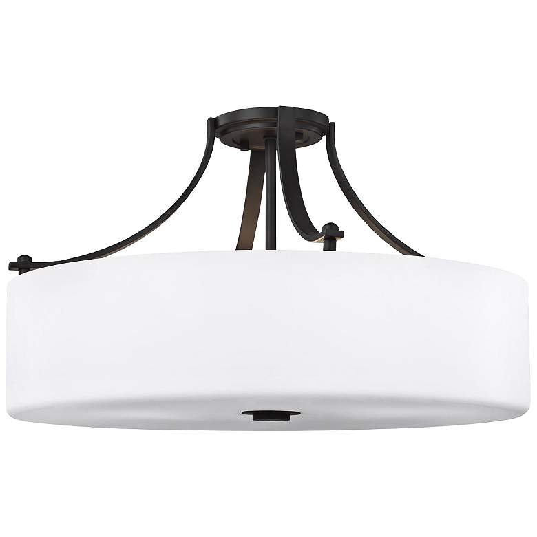 """Sunset Drive 22"""" Wide Oil-Rubbed Bronze Ceiling Light"""