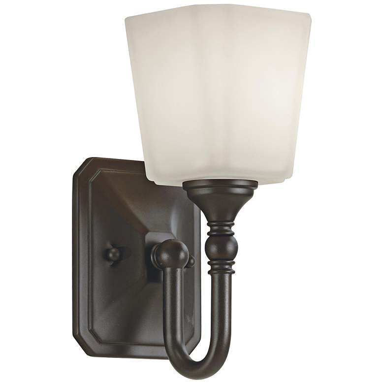 """Feiss Concord 10 1/4"""" High Oil-Rubbed Bronze Wall Sconce"""