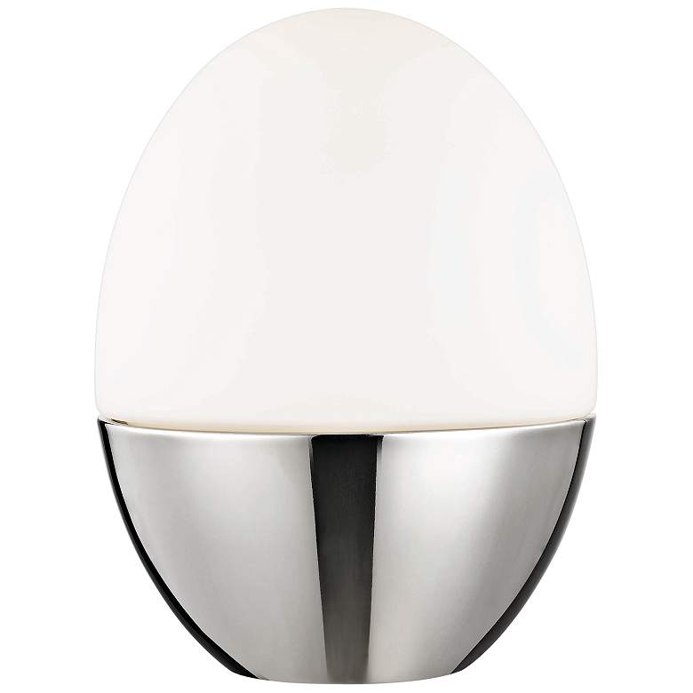 """Mitzi Orion 10"""" High Polished Nickel Accent Table Lamp"""