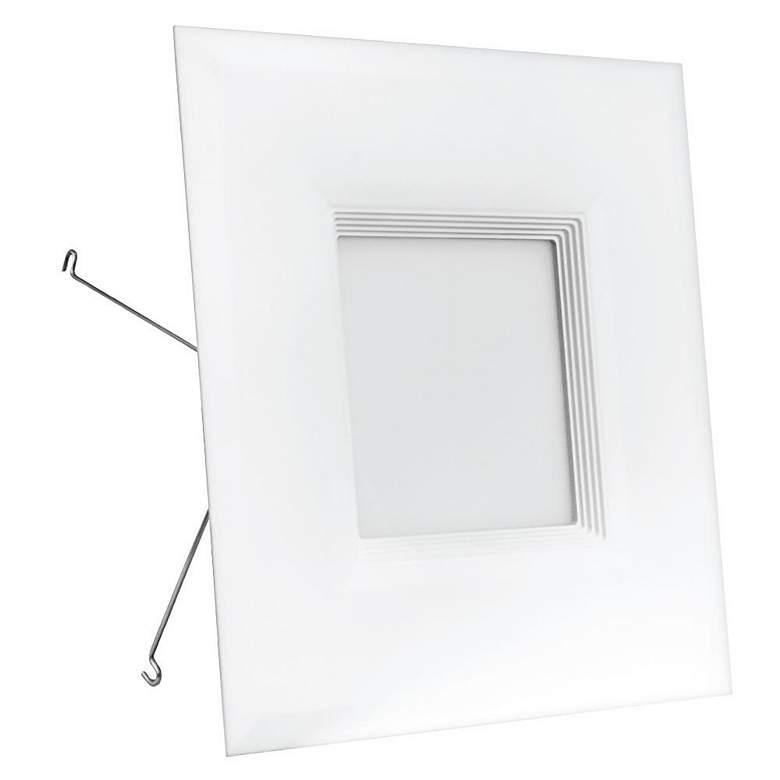 Juno 6 Quot White Metal Baffle Recessed Light Trim 02484