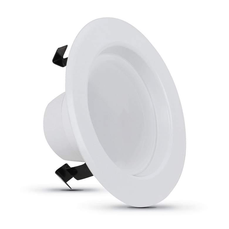 """4"""" Three Color Adjustable 7W JA8 LED Retrofit Trim"""