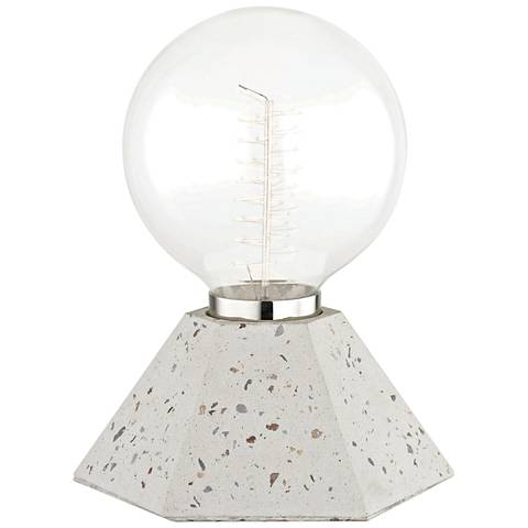 "Mitzi Lynn 8 1/4"" High Terrazzo Accent Table Lamp"