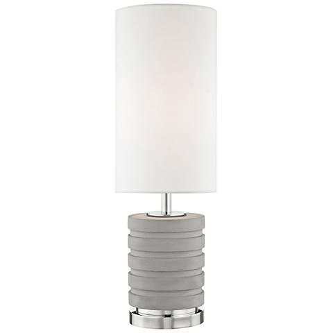 Mitzi Iris Polished Nickel Table Lamp