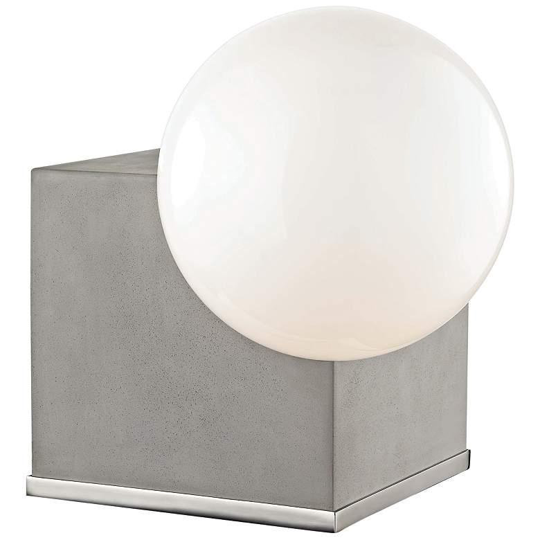 "Mitzi Gigi 13 1/2""H Polished Nickel LED Accent Table Lamp"