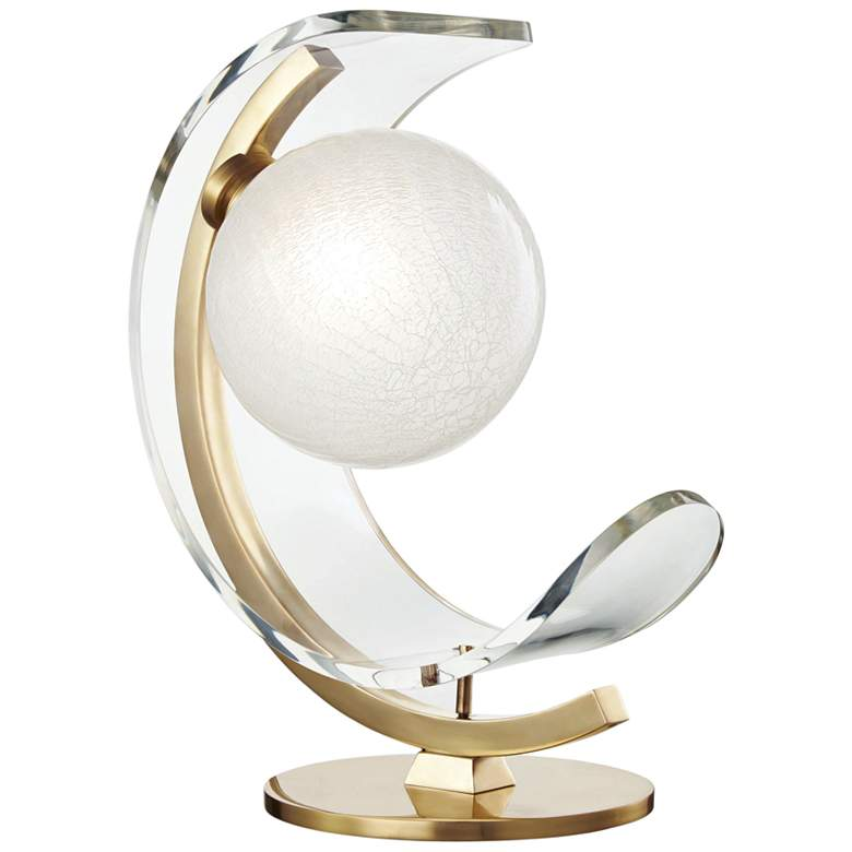 """Mitzi Arden 15"""" High Aged Brass LED Accent Table Lamp"""