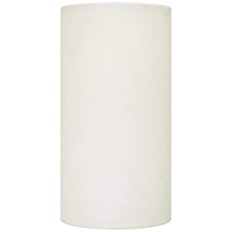 Eggshell Linen Drum Hardback Lamp Shade 5x5x10 (Spider)