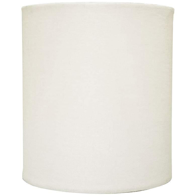 Eggshell Linen Drum Hardback Lamp Shade 5x5x6 (Clip-On)