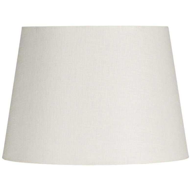 Off-White Linen Drum Hardback Lamp Shade 5x5x10 (Spider)