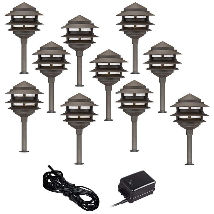 Paa 12 Piece Complete Outdoor Led