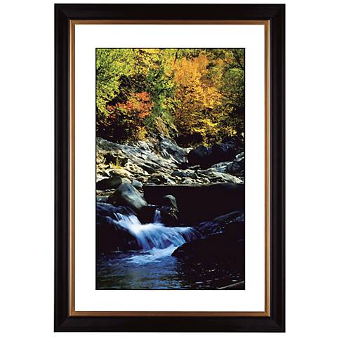 "Crystal Mountain Stream Giclee 41 3/8"" High Wall Art"